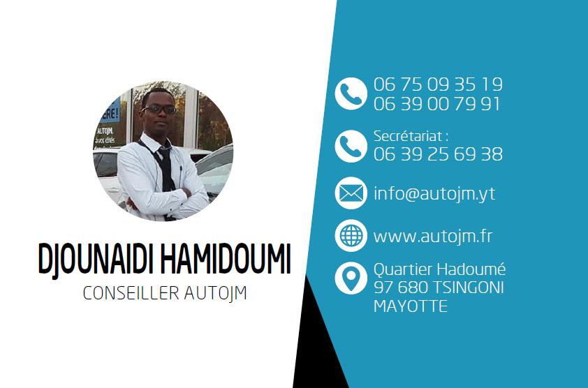 autojm conseiller vente auto Mayotte